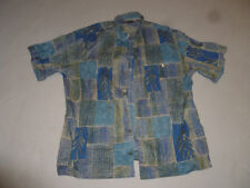 VINTAGE HONOLULU TORI RICHARD HAWAIIAN BUTTON SHIRT COTTON LAWN MENS SIZE 2XLT >
