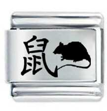 CHINESE YEAR OF THE RAT * Daisy Charm Fits Nomination Classic Italian Charm
