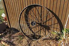 Vintage Antique Iron Metal 18 Spoke Wagon Wheel 4.5' #2235