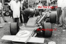 John Miles Gold Leaf Team Lotus 63 French Grand Prix 1969 Photograph 1