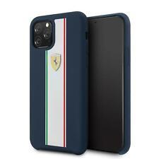 Ferrari Duro Funda De IPHONE 11 Pro Silicona Azul Marino Gota Protección