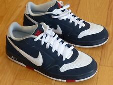 Nike Air Prestige ii low size 13 navy white red basketball skate shoes