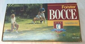 New Forster Vintage Bocce Complete Competitors Series Set 6200