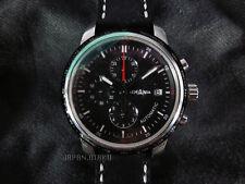 LEMANIA ETA Chronograph Date Watch See-through Sapphire case back Unused Works