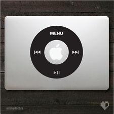 Apple iPod Wheel Macbook Decal / Macbook Sticker