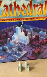 Cathedral 1986 Boardgame Piece white castle