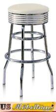 Taburetes y barras comedores de color principal blanco para el hogar 60cm-80cm