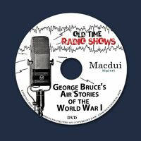 Air Stories of WWI Old Time Radio Shows War 4 OTR MP3 Audio Files on 1 Data DVD