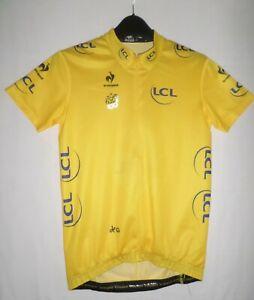 Genuine Le Coq Sportif 2013 Le Tour De France 100th LCL Cycling Jersey UK 14