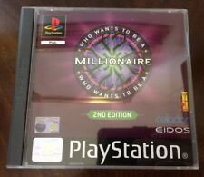 Who Wants To Be A Millionaire? 2nd Edition Playstation PS1 Brand New