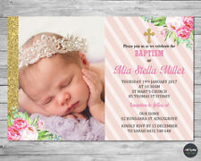 Christening, Baptism Greeting Invitations