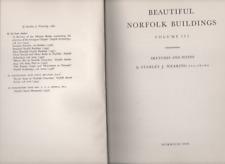 STANLEY J WEARING BEAUTIFUL NORFOLK BUILDINGS VOL.3 FIRST EDITION HARDBACK 1960