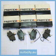 6 X Frentex 0611 WVA 21096 Kit de plaquettes de frein, frein a disque