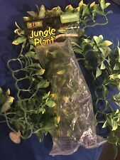 Exo-Terra Mandarin Jungle Plant- Small Set Of 4 Lizard Cage Decorations Greenery