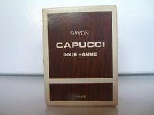 CAPUCCI POUR HOMME Paris OUTLET  SAVON PARFUME 100 gr SOAP-SEIFE RARE