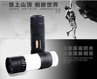 15-70X22 Optics Monocular Telescopes Fernglas Jumelles Night Vision Mini Pocket