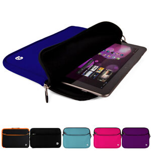 """Tablet Neoprene Sleeve Case Cover Carry Zip Bag For 10.4"""" Samsung Galaxy Tab A7"""