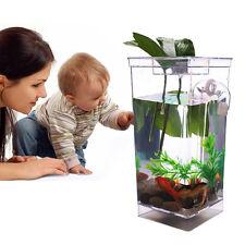 Plástico Pecera Goldfish Coldwater Acuario Tanque Filtro Kit
