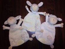 1Stck Schmusetuch Schnuffeltuch Kuscheltuch Baby Fehn Schnullerhalter Schaf Lamm