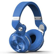 Bluedio T2S Bluetooth Wireless Headphones - Blue
