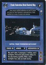 Star Wars CCG Coruscant Rare Trade Federation Droid Control Ship