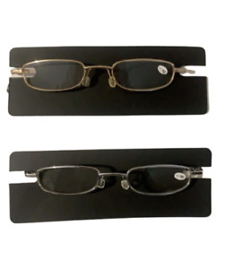 ✅ Slim Metal Reading Glasses Gold or Silver - FREE S/H