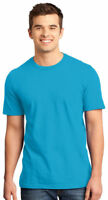 District Men's Short Sleeve 100% Cotton Tear Away Basic Tee XS-4XL. DT6000