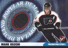 2003-04 Topps Pristine Hockey Popular Demand JERSEY Mark Recchi Phil. Flyers