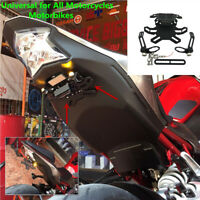 Motorcycle License Plate Holder Light Bracket For Kawasaki NINJA300 250 400 2018