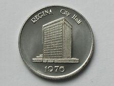 Regina City/Town Hall Buildings 1976 Medal/Token Large Date (TYPE 2 Die Variety)