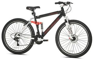 """27.5"""" Genesis V2100 Mountain Pro Bike Off Road Tires 21-Speed Bicycle, 5'6""""+"""