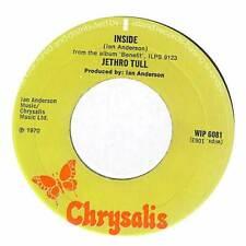 "Jethro Tull - Inside - 7"" Vinyl Record Single"