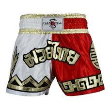 Nuevo Playwell Competencia Muay Thai Royalty Lucha Bañador Corto Mma Pantalones