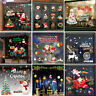 Removable Lovely Christmas Vinyl Art Window Glass Stickers Wall Decal Xmas Decor