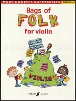 Bags of Folk for Violin Sheet Music Book Grade 1-2 Mary Cohen