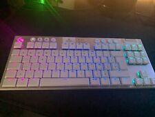 Logitech G915 TKL Tactile Kabellose Gaming-Tastatur, Spanisch (Qwertz) - Carbon