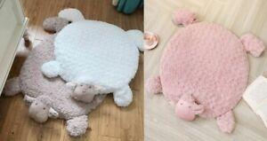 Unisex Kids Cartoon Baby Play Mat Crawling Carpet Sheep Design Soft Room Decor
