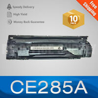 10 PACK CE285A Toner 85A Generic Toner for LaserJet Pro M1132 M1212 M1217 P1102