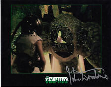"John Woodvine The Tripods 8x10"" Autograph Photo"