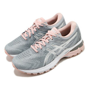 Asics GT-2000 8 Grey Silver Pink White Women Running Shoes Sneakers 1012A591-023