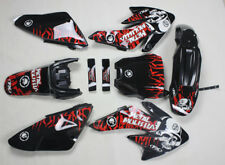 3M Graphics Decals Black Plastics For Honda CRF 70 CRF70 Pit Dirt Bikes #5