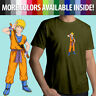 Naruto Goku Anime Ninja Anime Crossover Shirt Unisex Mens Tee Crew Neck T-Shirt