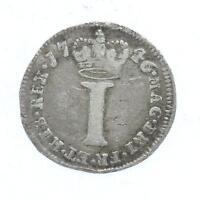 1746 George II Maundy 1d 1 Penny Lot D4