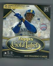 2019 Topps Gold Label Baseball Hobby Box