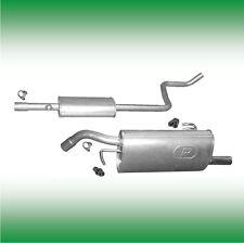 Smart Forfour 1.1 55 KW 75 PS 2004-2006 Auspuff Auspuffanlage Abgasanlage 0891