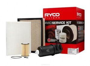 Ryco 4x4 Filter Service Kit RSK27C fits Volkswagen Amarok 2.0 BiTDI 120kw, 2....