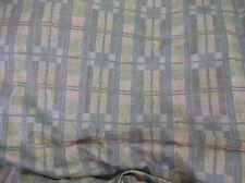 12 Metres Warwick Claudette Natural Geometric Check Cotton   Curtain  Fabric