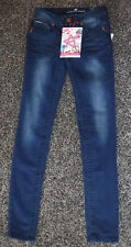NWT Junior Girls Almost Famous Skinny Jeans Size 0