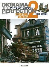 Diorama Perfection2 Structure,Vehicles Yoshioka Kazuya Picturial Book F/S wTrack