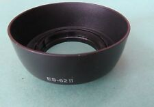 ES-62 II Lens hood ES 62 II for Canon EOS EF 50mm f/1.8 II Lens UK
